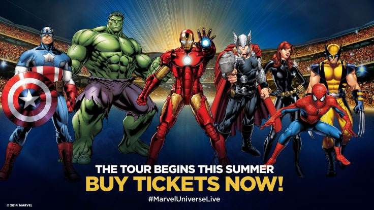 Buy Marvel Universe Live! Tickets